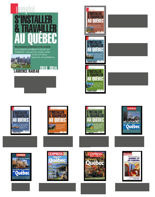 Les publications de Laurence Nadeau
