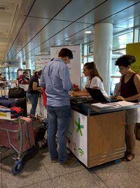 Accueil à l'aéroport pour les étudiants étrangers