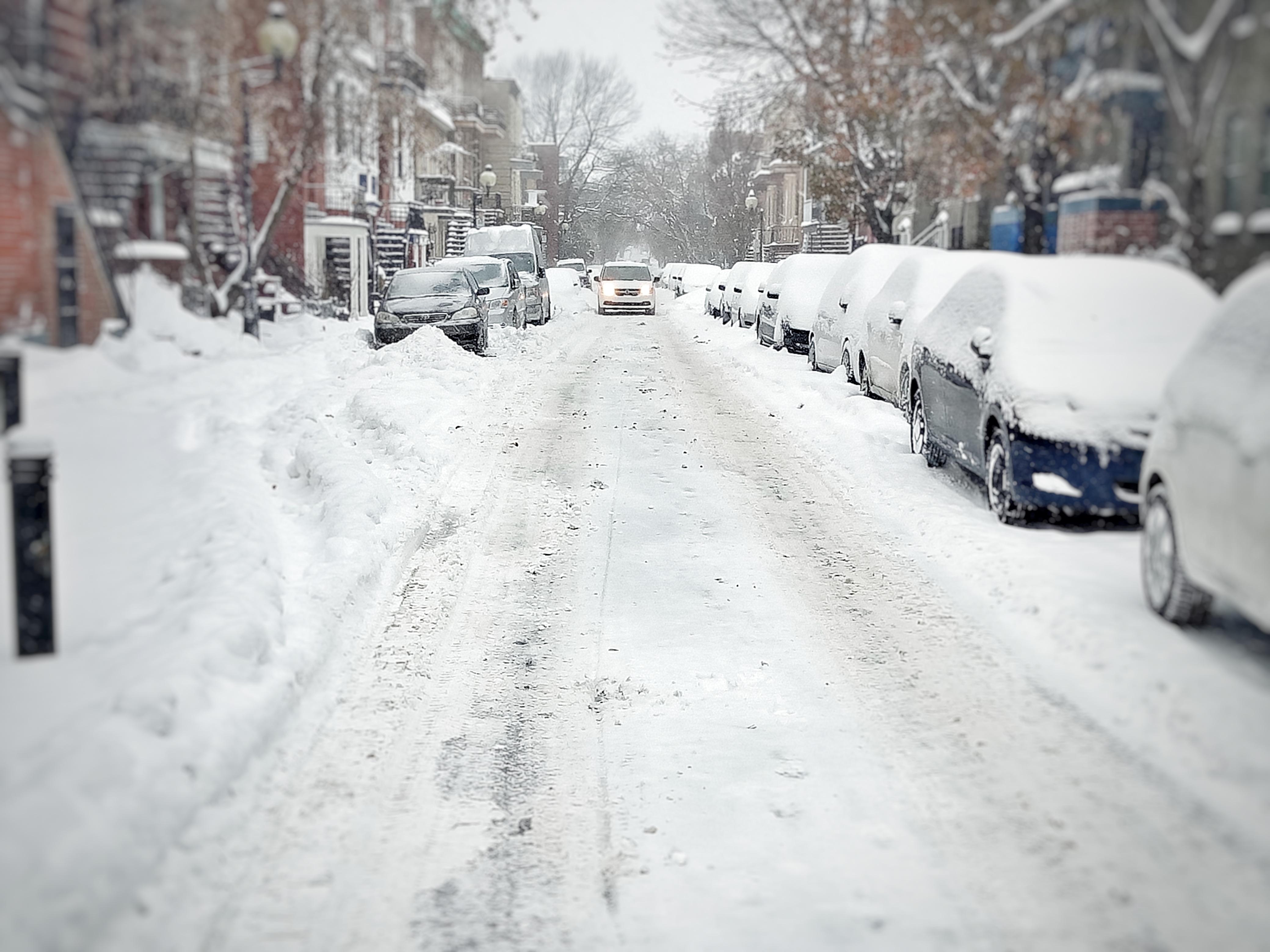 histoire drole neige canada