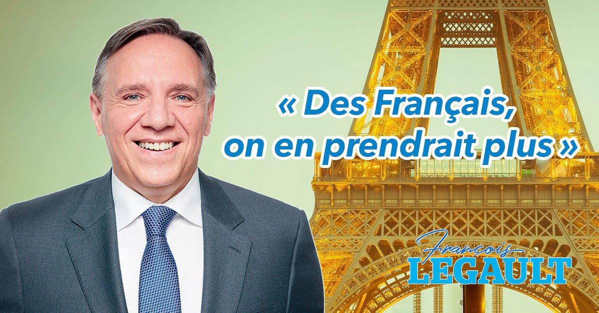 Le Premier Ministre Du Quebec Veut Plus Dimmigrants Francais